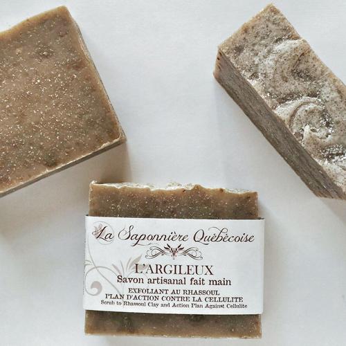 savon naturel et artisanal argileux rhassoul