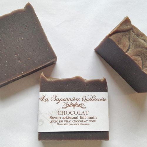 savon naturel et artisanal fait main au vrai chocolat