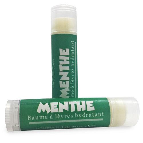 baume à lèvres hydratant et naturel menthe