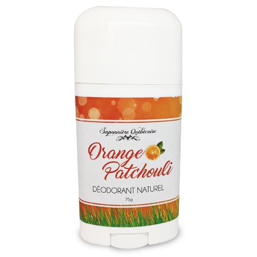 déodorant naturel sans aluminium orange et patchouli