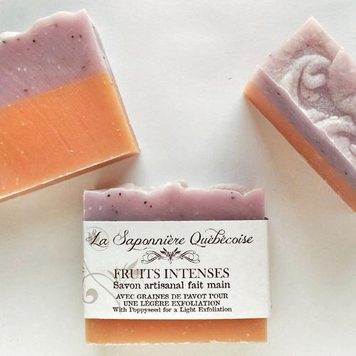 savon naturel et artisanal fait main parfumé aux fruits