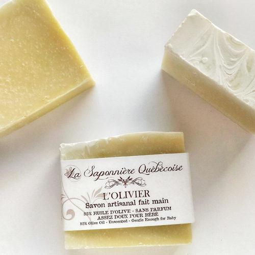 savon naturel et artisanal fait main à l'huile d'olive