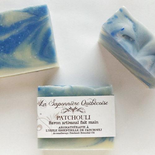 savon naturel et artisanal fait main au patchouli