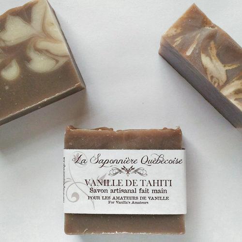 savon naturel et artisanal fait main à la vanille