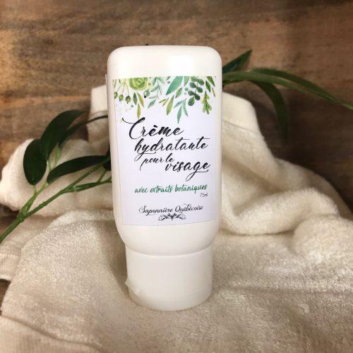 crème hydratante pour le visage naturel
